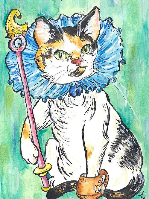 Tinkerbell pet postcard