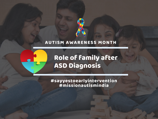 Role of family after an ASD diagnosis