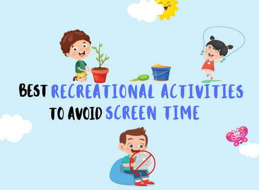 Best recreational activities for children – helping reduce screen-time