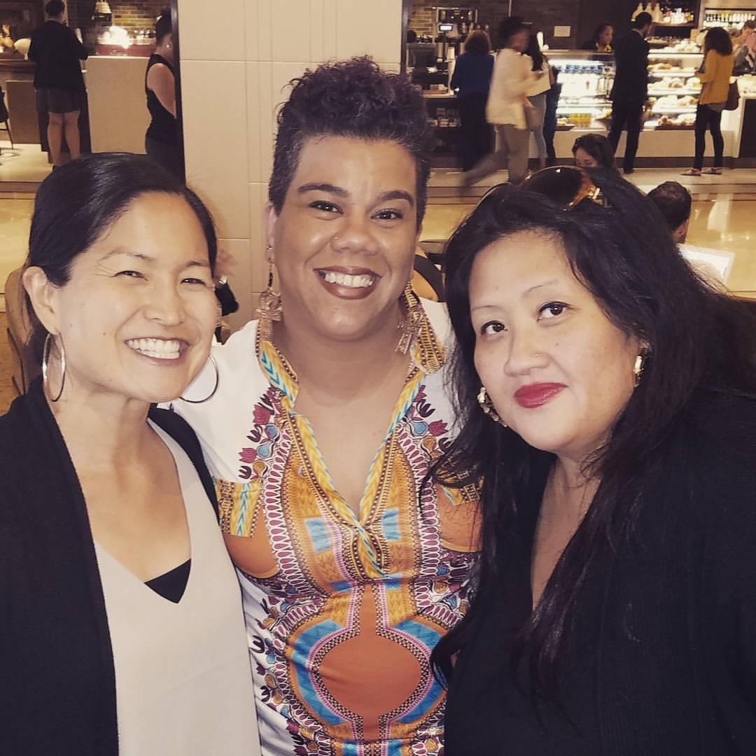 Kari, Rosa Clemente and Kandi