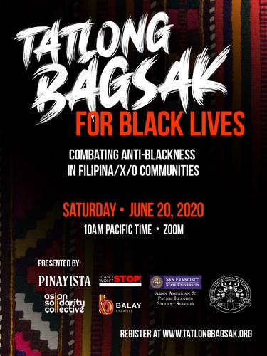 Tatlong Bagsak for Black Lives