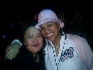 Kandi and Monie Love