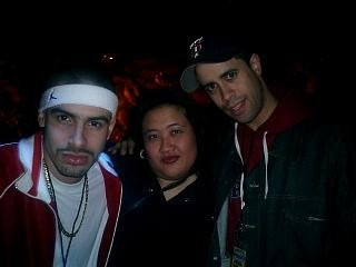 Kandi and Rocksteady Crew