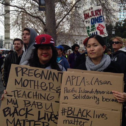 BLM Action in Oakland in 2015