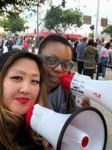 Kandi and Chris Protest Against Mayor Faulconer 2020