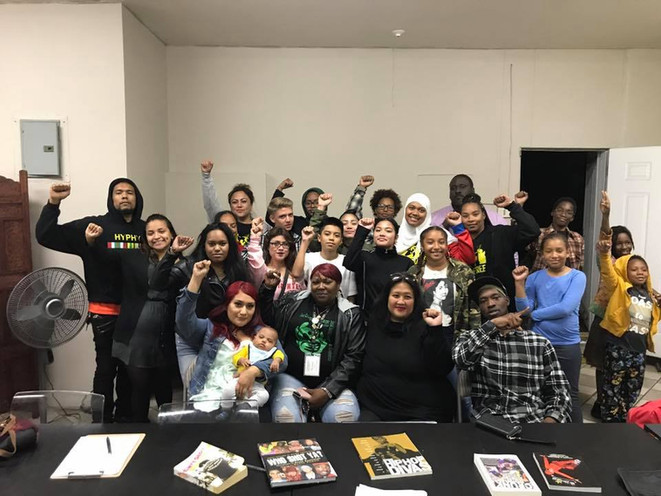 Political Education class on Hip Hop