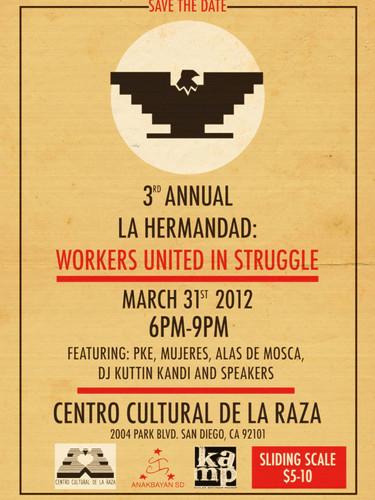 La Hermandad, March 31, 2012