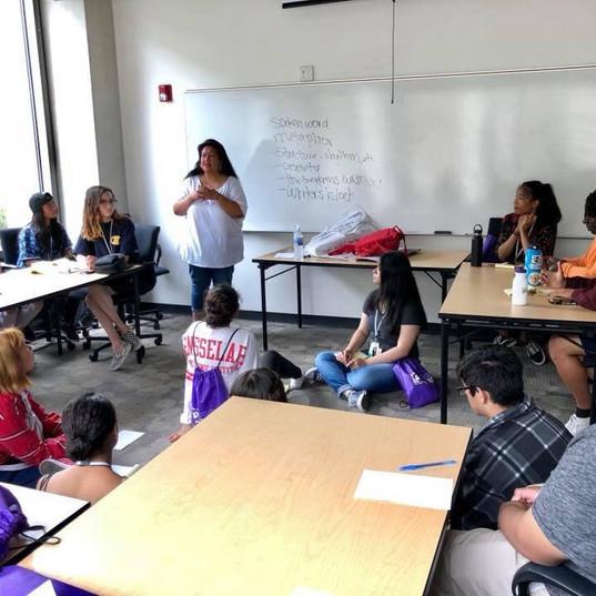 UCSD Spaces Poetry Workshop