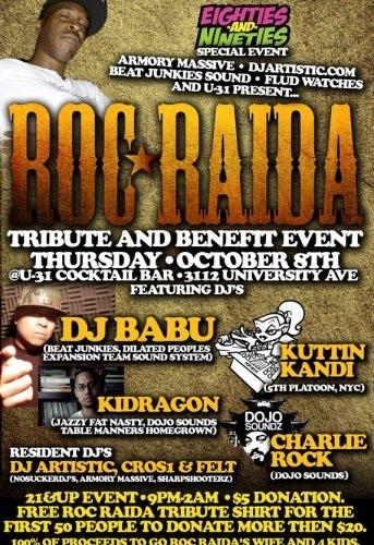 Roc Raida Tribute and Benefit