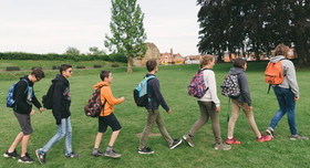 International Students Visiting Tonbridge Castle