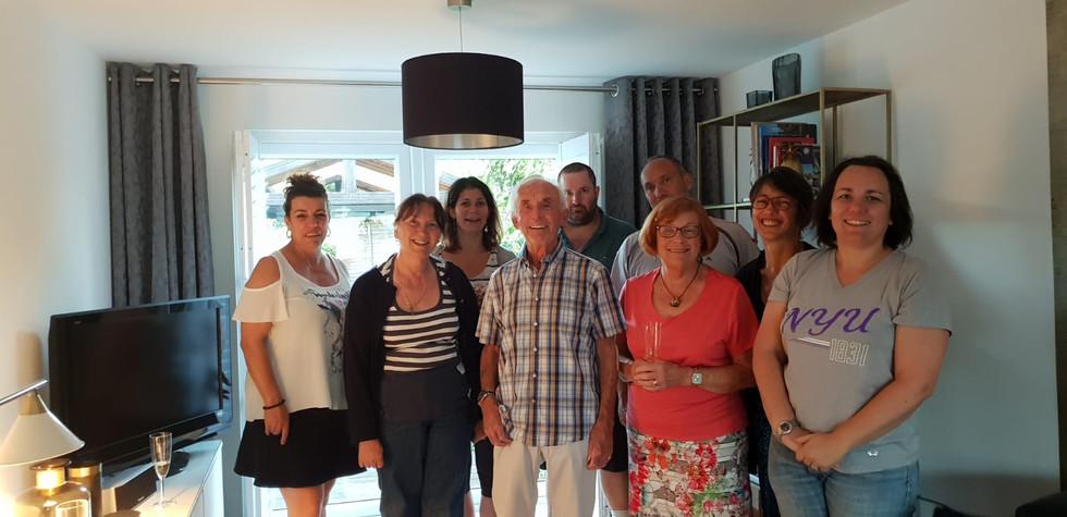 Teaching Group Visiting Tonbridge