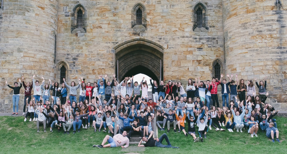 Foreign Student Group Visits Tonbridge