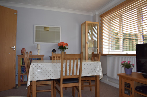 A Typical Host Family Dining Area