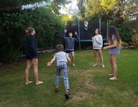 Host Family Fun in the Garden
