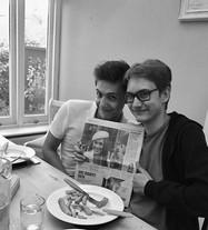 UK News During a Student Visit to Tonbridge