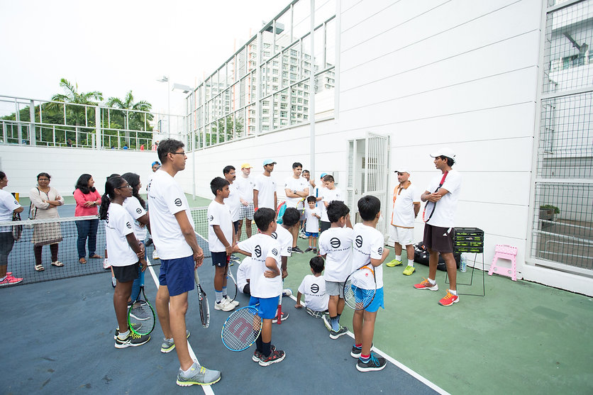 Tennis coaching for kids, Tennis for beginners adults, Tennis training for advanced players. We organise tennis camps, adults tennis clinic, corporate tennis events.
