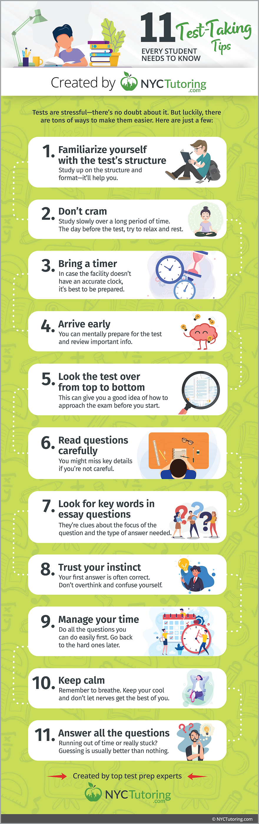 11 Test-Taking Tips
