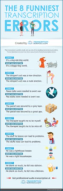 The 8 Funniest Transcription Errors