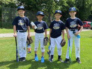 U10 Future Stars - Deutsche Baseball Akademie zu Gast bei den Braunschweig 89ers