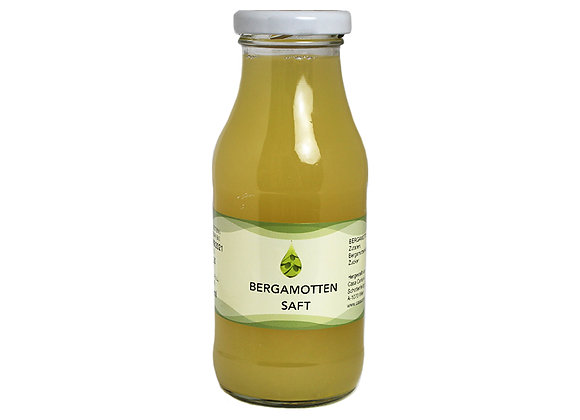 Bergamottensaft pur 250ml