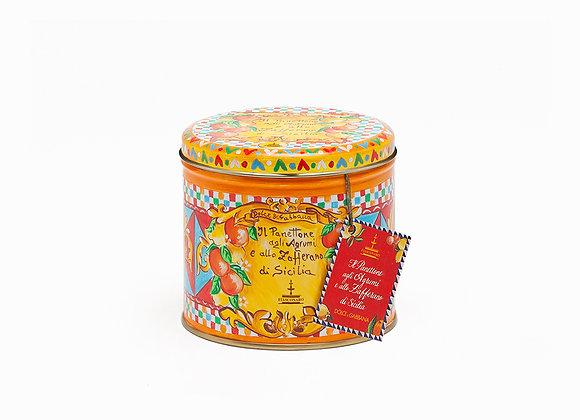 Panettone Dolce&Gabbana Zitrus & Safran aus Sizilien 100 gr