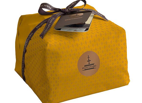 Panettone  Mediterraneo mit Ananas & Marille kandierte Ananas & Marille 1kg