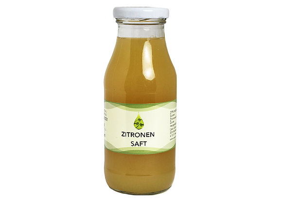 Zitronensaft pur 250ml