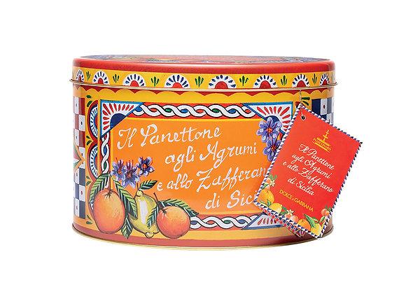Panettone Dolce&Gabbana Zitrus & Safran aus Sizilien 500gr