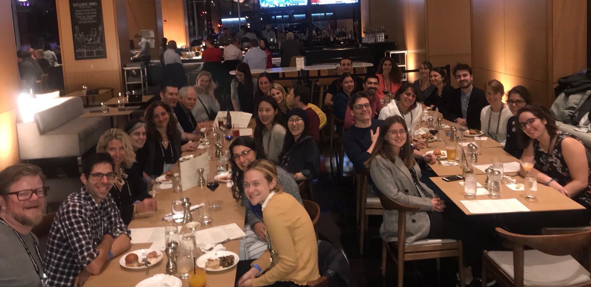 Barres family lab dinner 2019