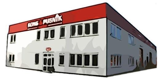Unser Firmensitz befindet sich auf dem Altenbrucher Damm 144 in 47269 Duisburg Großenbaum Kons und Pusnik