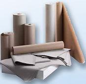 Χαρτί συσκευασίας σε γκρί, λευκό και καφέ κράφτ.ΒΑΤΕΣ - ΥΛΙΚΑ ΣΥΣΚΕΥΑΣΙΑΣ