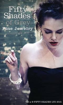 Shot by Crystal Arnette for Fifty Shades of Grey Fine Jewelry