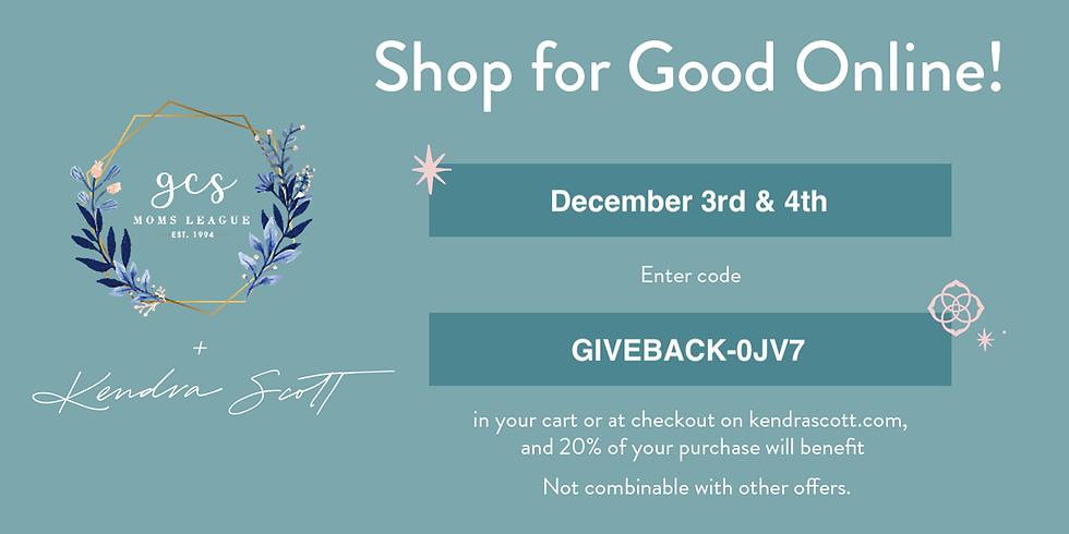 GCS + Kendra Scott – Let's Shop & Do Good Together!