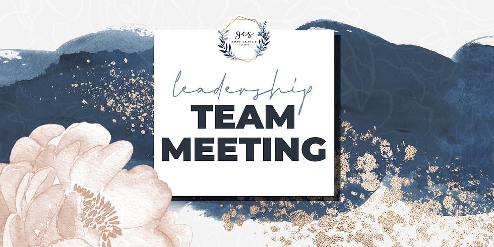 Leadership Team Planning Meeting (February)