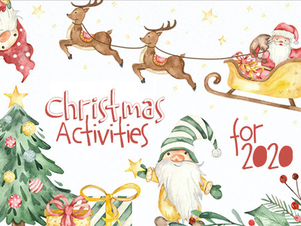 Christmas 2020 - Family-Friendly Activities