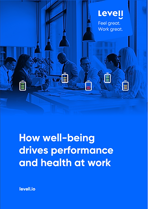 How well-being drives performance and health at work