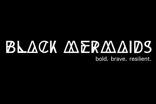 Black Mermaids Future Tee