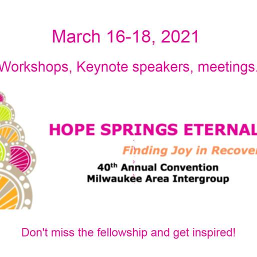 Milwaukee Intergroup Virtual Convention