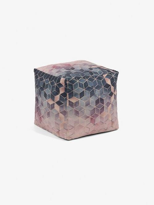Pouf Hive Square Pink