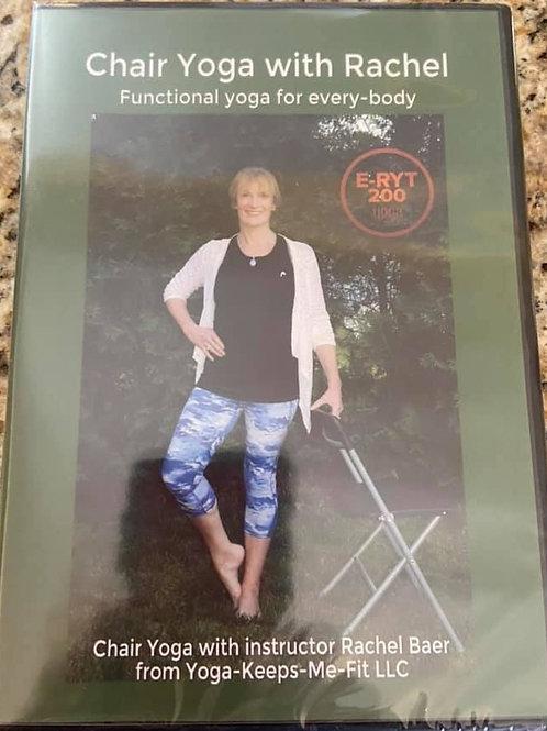 Chair Yoga with Rachel (DVD)