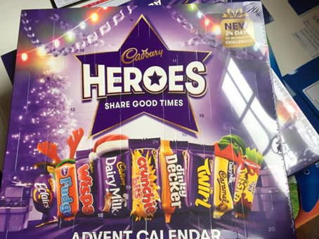 Advent calendar's and other holiday traditions.
