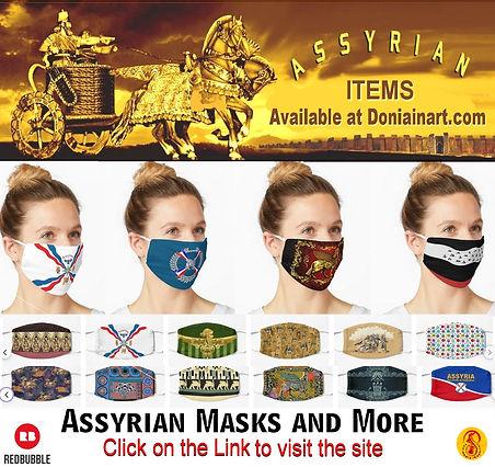 for Assyrian gift shop Masks.JPG