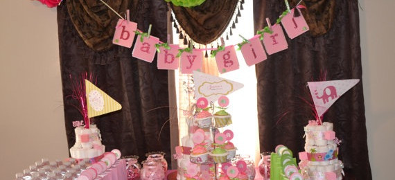 Elephant Baby Shower Party