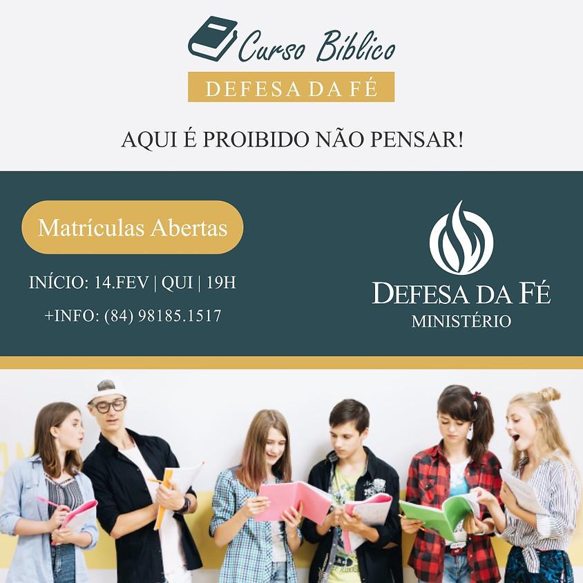 Curso Bíblico Defesa da Fé (Presencial)