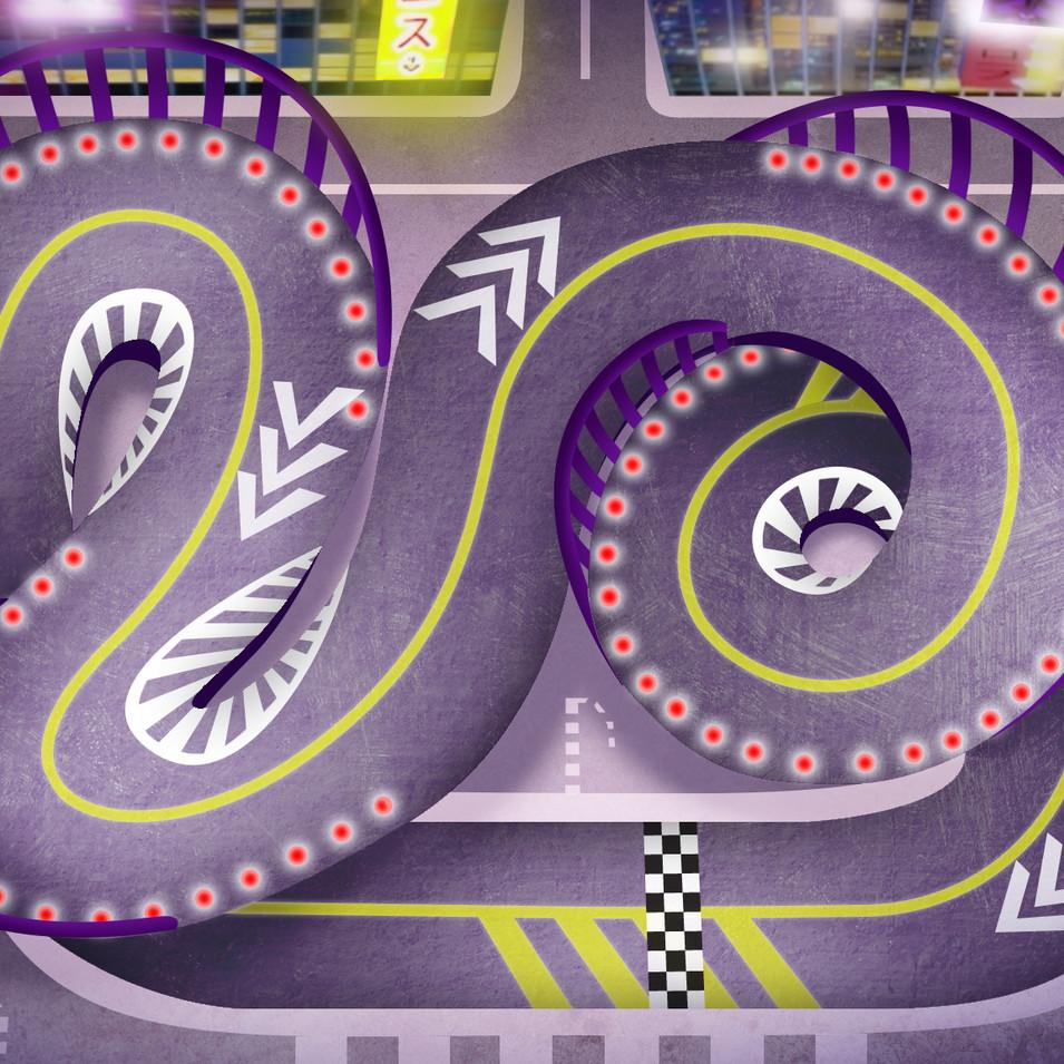 Danger Mouse Track Design