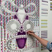 coloured pencil on paper 66 x 101 cm