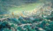 Mr. Left, Jin Zuo, Oil Painting, Fine Arts