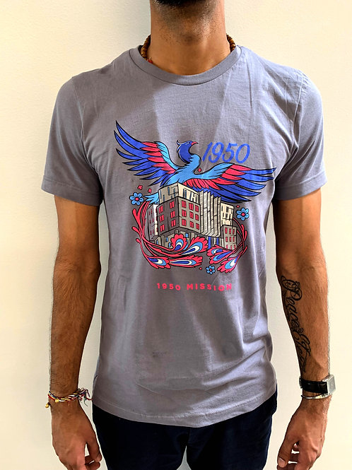 1950 Mission St. Ground Breaking Celebration Unisex T-Shirt
