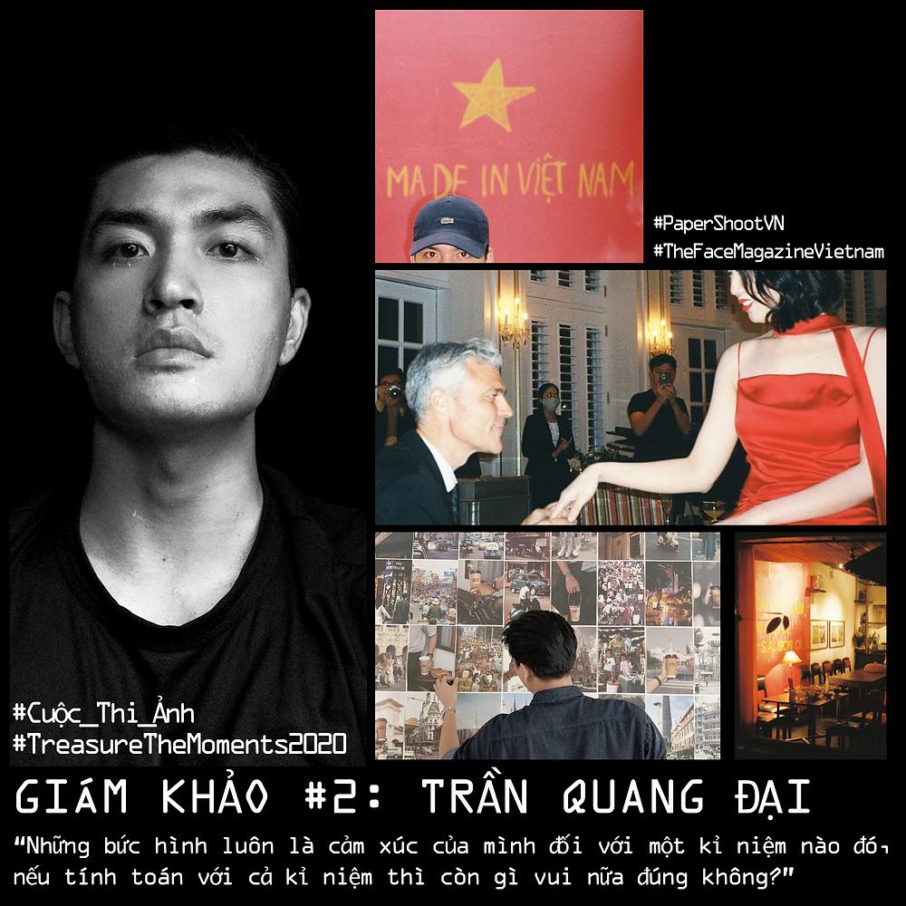 Trần Quang Đại cảm thụ về nhiếp ảnh film. Ảnh: Paper Shoot Vietnam