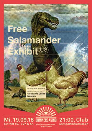 Free Salamander Exhibit